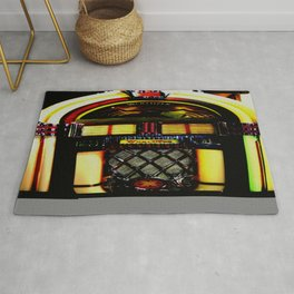 Wurlitzer Jukebox  Rug