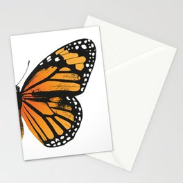 Monarch Butterfly | Right Butterfly Wing | Vintage Butterflies | Stationery Cards