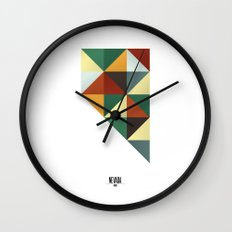Geometric Nevada Wall Clock
