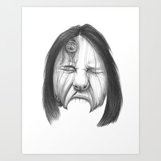 Wood Grace Art Print