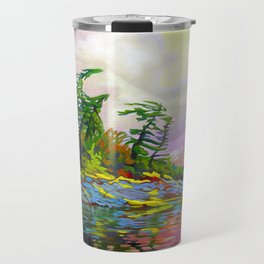 Wind Sculpture by Amanda Martinson Travel Mug