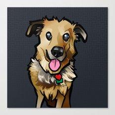 Cody (Blue) Canvas Print