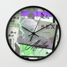 Retro Beauty Wall Clock