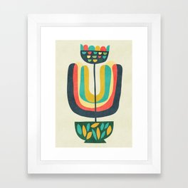 Potted Plant 3 Framed Art Print