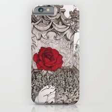 rose and grave Slim Case iPhone 6s