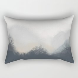 Silent Forest Rectangular Pillow