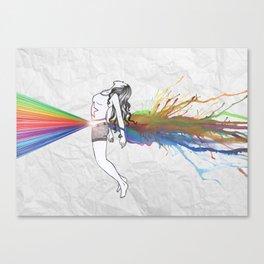 I Am Colour Canvas Print