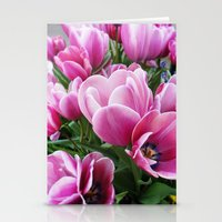 tulips Stationery Cards featuring tulips by Liudvika's Lens