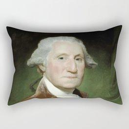 President George Washington Rectangular Pillow