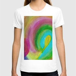 Bright Spirals T-shirt
