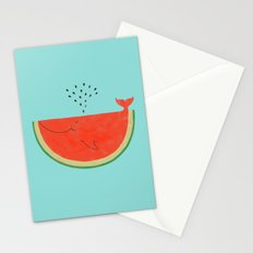 Don't let the seed stop you from enjoying the watermelon Stationery Cards