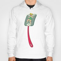 tinker bell Hoodies featuring Tinker Clash by Pixel Hero