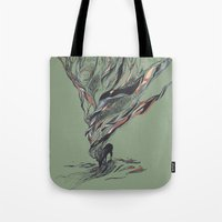 huebucket Tote Bags featuring Dream Again by Huebucket