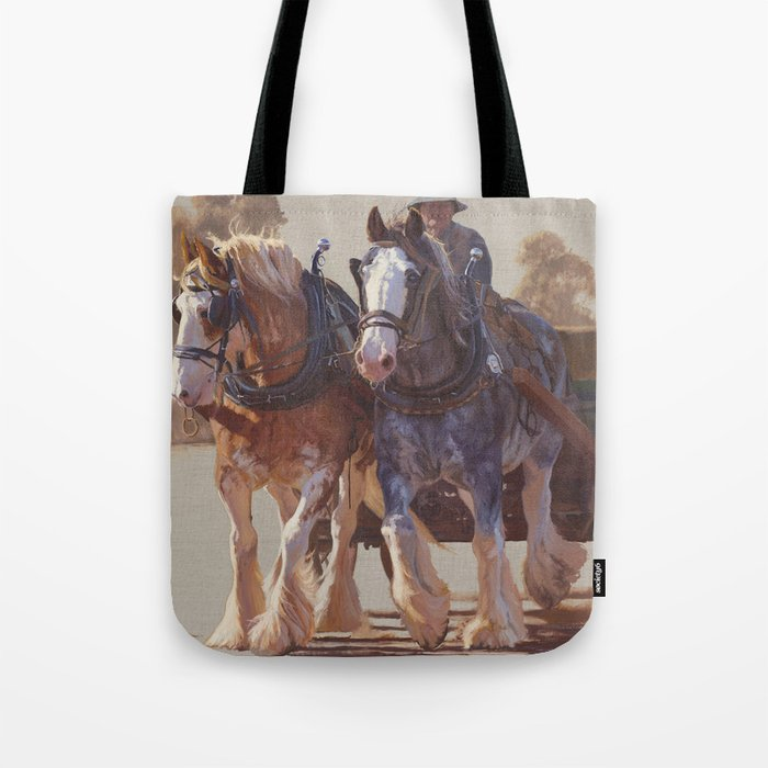 The landscape within Tote Bag