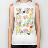 sport Biker Tanks featuring Graphic sport by Susiprint