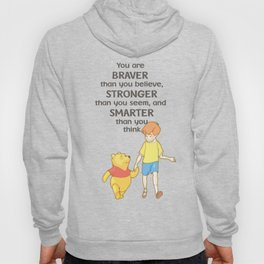 Christopher and Pooh Bear Hoody