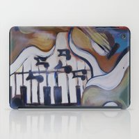 picasso iPad Cases featuring Picasso Guitar by Artist Fran Doll