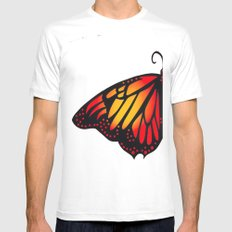 Symmetry SMALL Mens Fitted Tee White