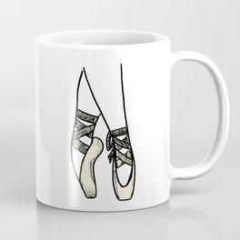 Ballet shoes detail Coffee Mug