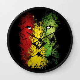 lion of zion Wall Clock