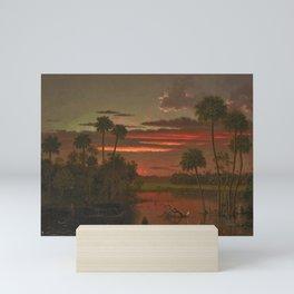 The Great Florida Sunset by Martin Johnson Heade Mini Art Print