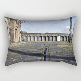 Old Tramstation - Depot - Berlin - Pankow Rectangular Pillow