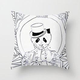 Pandi-Panda Throw Pillow