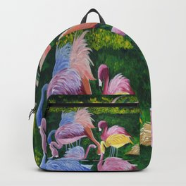 Flamingo Love Backpack