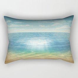 Insta Beach Rectangular Pillow
