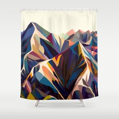 Mountains original Shower Curtain