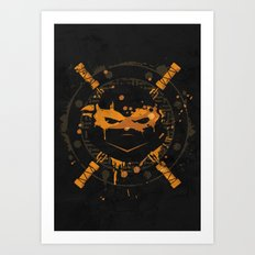 Michelangelo Turtle Art Print