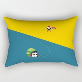The Angry Gnome Rectangular Pillow