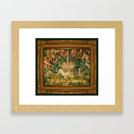 The Unicorn is Found Framed Art Print