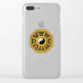 Yin Yang Bagua Clear iPhone Case