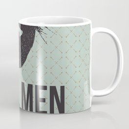 Real men go to real barbers Coffee Mug