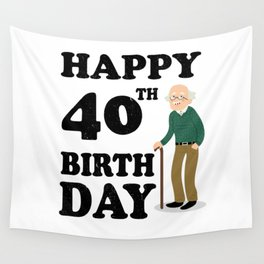 FUNNY OLD | 1978 Birthday Shirt Wall Tapestry