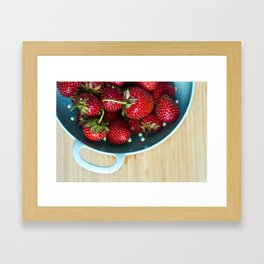 Freshest Berries Framed Art Print