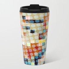 dots meet pixels Metal Travel Mug