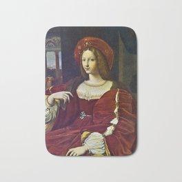 Joanna of Aragon by Raphael Bath Mat