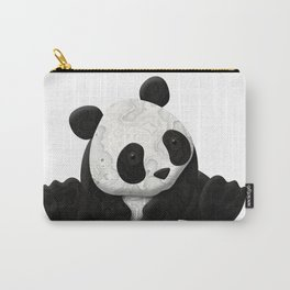 Lace Agate Panda Carry-All Pouch