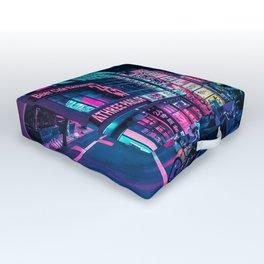 A Neon Wonderland called Tokyo Outdoor Floor Cushion