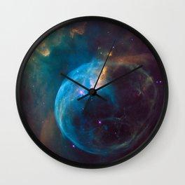NGC 7635 Bubble Nebula Wall Clock