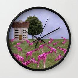 Lawn Ornaments Wall Clock