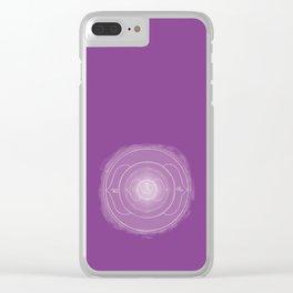 AJNA Boho mandala Clear iPhone Case