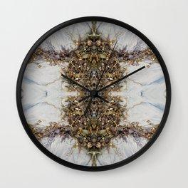 Alien Amphibian Mandala-esque Wall Clock