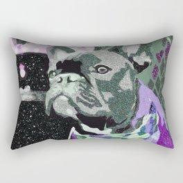Biggie Purple Rectangular Pillow