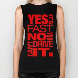 Yes it's fast No you can't drive it v5 HQvector Biker Tank