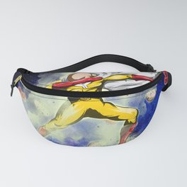 Saitama Power Dab in Space Fanny Pack