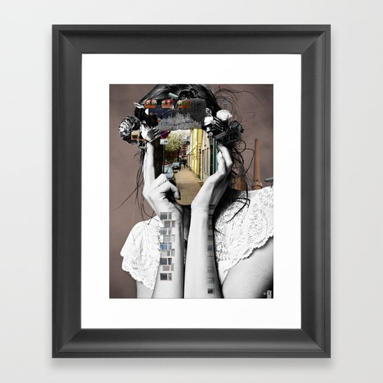 Crazy Woman - Lara Lisa Bella Framed Art Print