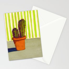 Cactus with Wallpaper Stationery Cards
